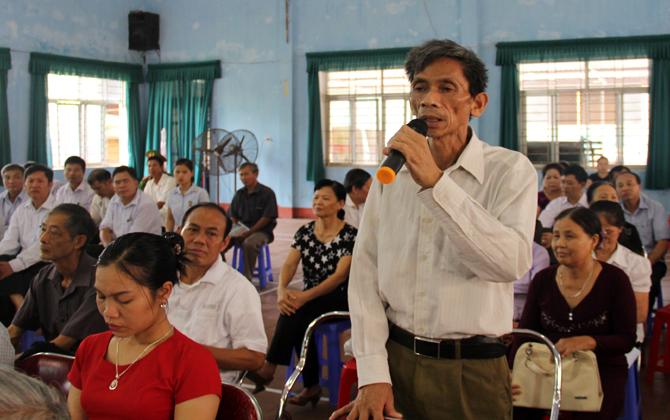 Đại biểu, HĐND tỉnh, tiếp xúc cử tri, TP Bắc Giang