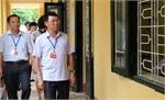 Phó Chủ tịch UBND tỉnh Lê Ánh Dương kiểm tra công tác tổ chức thi tại Trường THPT Yên Dũng 2 và THPT Thái Thuận