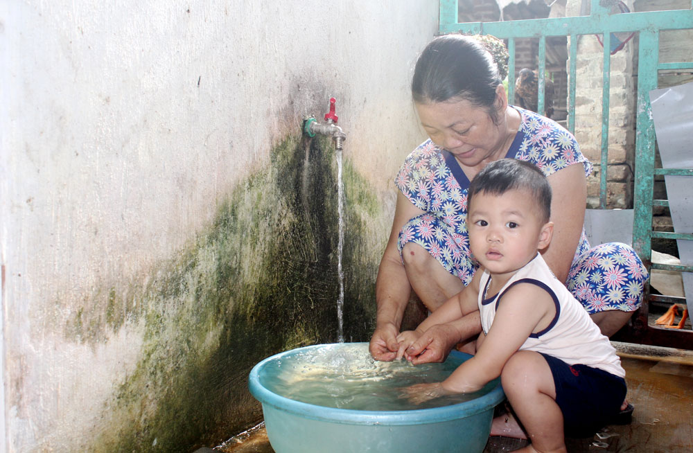 Hàng nghìn hộ dân ở Sơn Động vẫn thiếu nước sinh hoạt