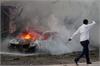 Nổ bom xe ngoài ngân hàng Afghanistan, 70 người thương vong