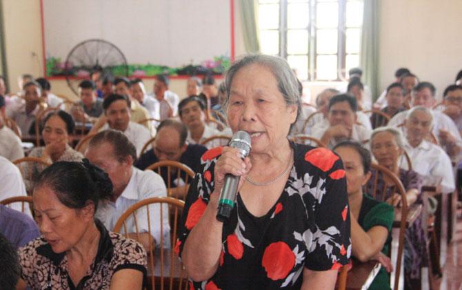 Đại biểu Quốc hội tiếp xúc cử tri một số địa phương