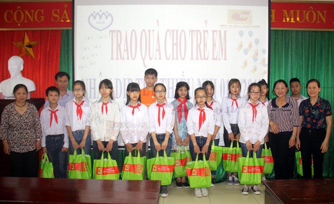 Lục Nam: Gần 1,3 tỷ đồng xây dựng Quỹ bảo trợ trẻ em