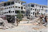 Chiến dịch không kích của liên quân khiến 472 thường dân Syria thiệt mạng