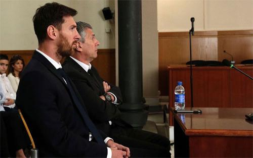 Messi được đổi án 21 tháng tù thành tiền phạt