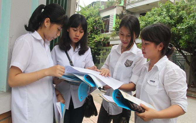 Kết thúc bài thi cuối của kỳ thi THPT quốc gia, 1 trường hợp vi phạm quy chế