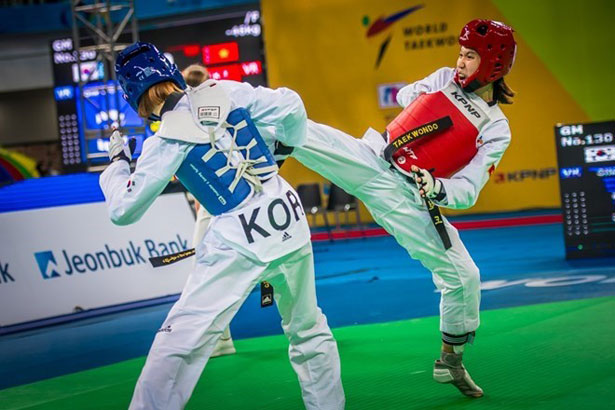 Vietnam wins first silver taekwondo medal on global stage