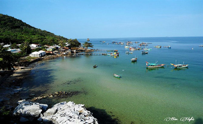 Hon Nghe Island - a new destination in Kien Giang