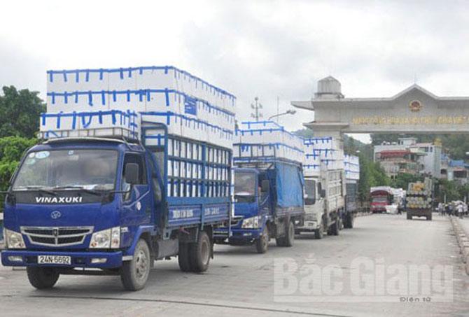 Gần 5,5 nghìn tấn vải thiều xuất khẩu qua Lào Cai