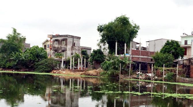 Xử lý nghiêm việc lấn chiếm đất tại thôn Hoàng Mai 2