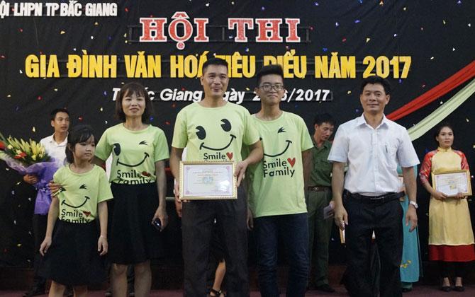 Hội thi Gia đình văn hóa tiêu biểu năm 2017