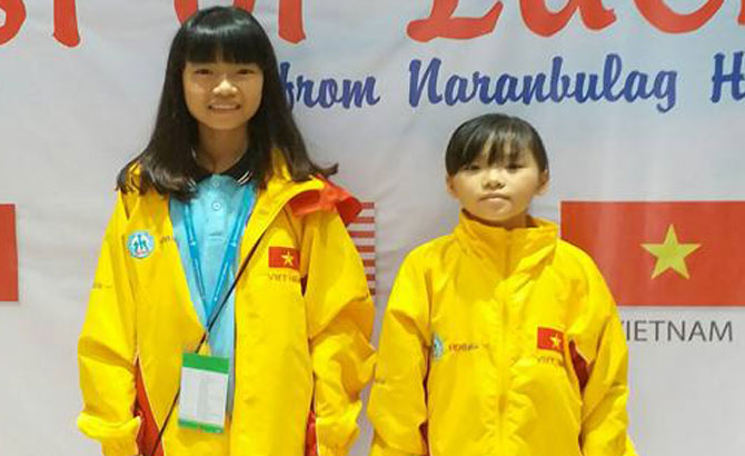Bac Giang's players win seven medals at Eastern Asian youth chess champs