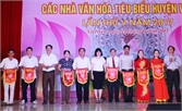 Liên hoan các nhà văn hóa tiêu biểu huyện Việt Yên lần thứ V - 2017