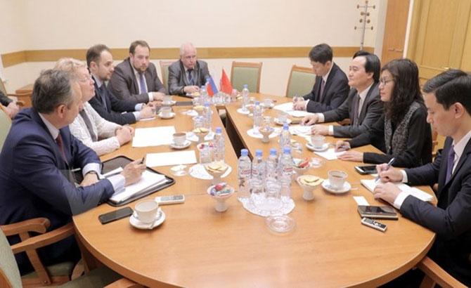 Nga dành cho Việt Nam gần 1.000 suất học bổng mỗi năm