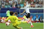 Đức đoạt vé vào chơi chung kết Confederations Cup 2017