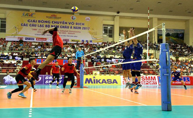 VN win first match in Asian volleyball tournament