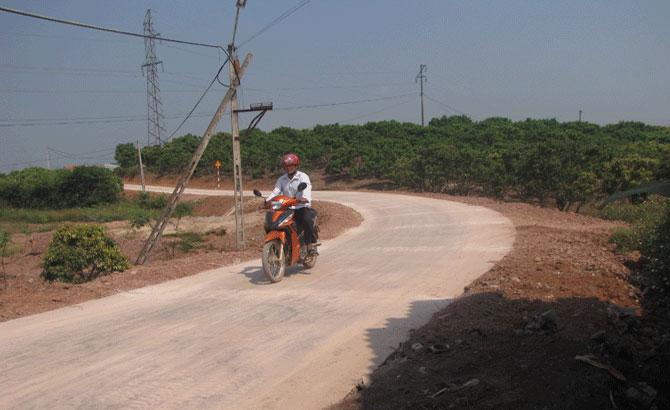 Nâng cấp 3 tuyến đường giao thông