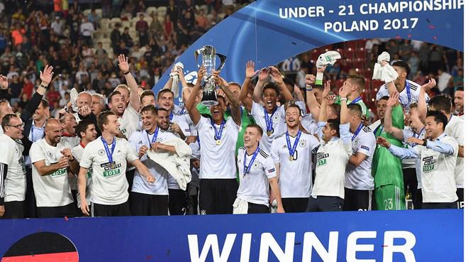 Đánh bại Tây Ban Nha, Đức lần thứ 2 vô địch giải U21 châu Âu