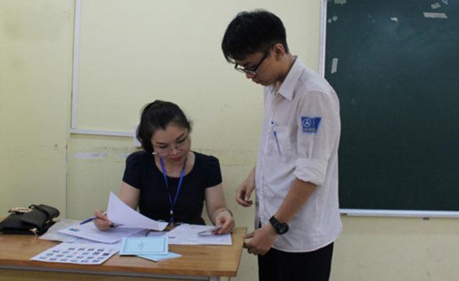 Bài thi Ngữ văn được yêu cầu chấm theo 2 vòng độc lập