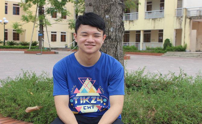 Cậu học trò chuyên Toán xuất sắc giành huy chương Bạc Olympic Tin học châu Á