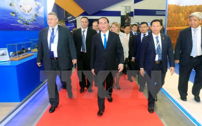 Chủ tịch nước kết thúc chuyến thăm chính thức Liên bang Nga