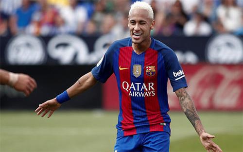 Neymar kiếm tiền tốt nhất thế giới trong nhóm VĐV dưới 25 tuổi