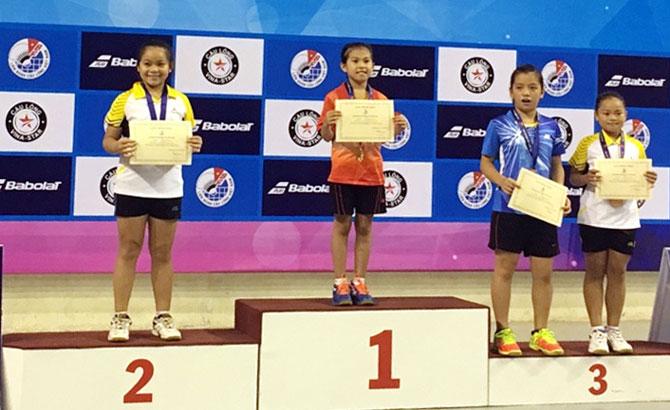Giải cầu lông thiếu niên toàn quốc: Bắc Giang xếp thứ Nhì toàn đoàn