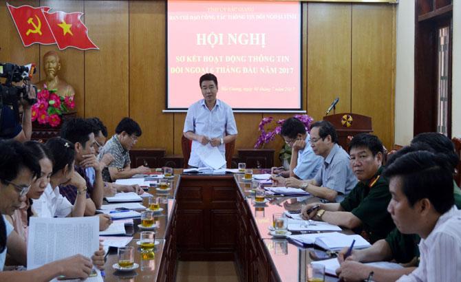 Quảng bá sâu rộng về Bắc Giang qua công tác thông tin đối ngoại