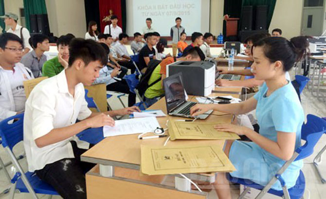 Năm học 2017-2018, các  trường nghề tuyển 825 chỉ tiêu