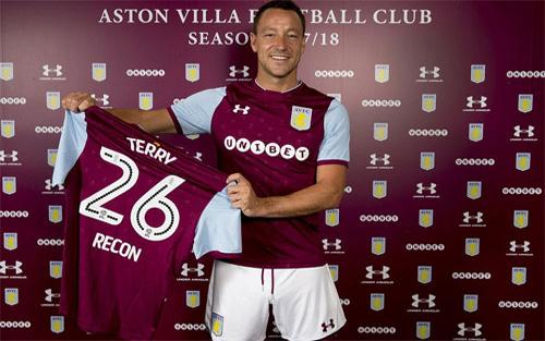 John Terry đầu quân cho Aston Villa, tránh đối đầu Chelsea