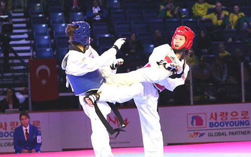 Taekwondo Việt Nam giành HCV trên đất Hàn Quốc