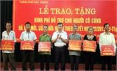 Thành phố Bắc Giang: Trao 500 triệu đồng hỗ trợ người có công xây dựng, sửa chữa nhà ở