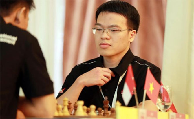 Le Quang Liem ties in sixth and seventh round of World Open