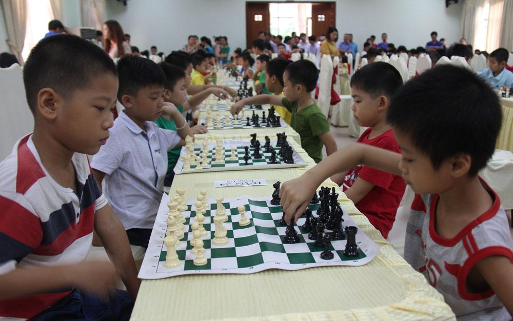 Bước chuẩn bị dài cho môn cờ vua
