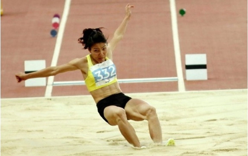 Thao wins gold at Asian athletics competition