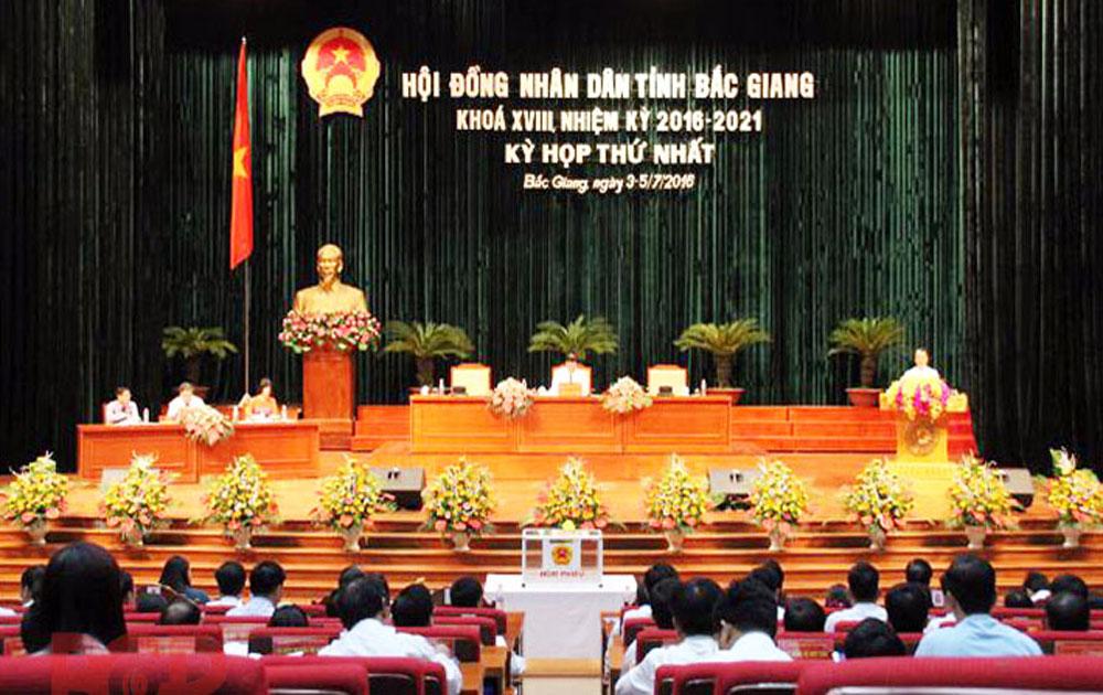 Ngày mai (11-7), khai mạc kỳ họp thứ 3 HĐND tỉnh Bắc Giang khoá XVIII