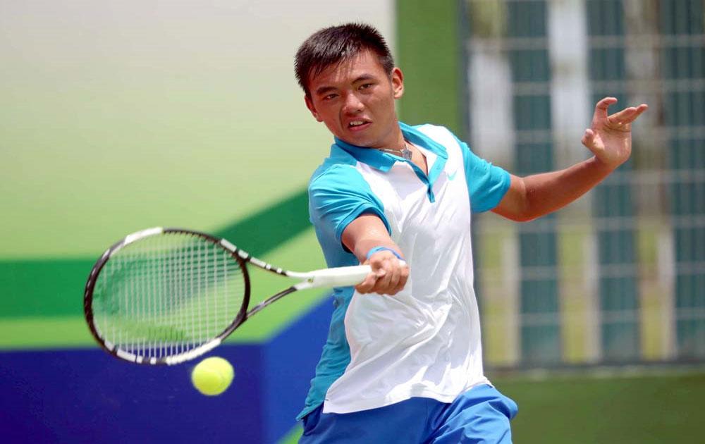 Ly Hoang Nam into next round at China tennis event