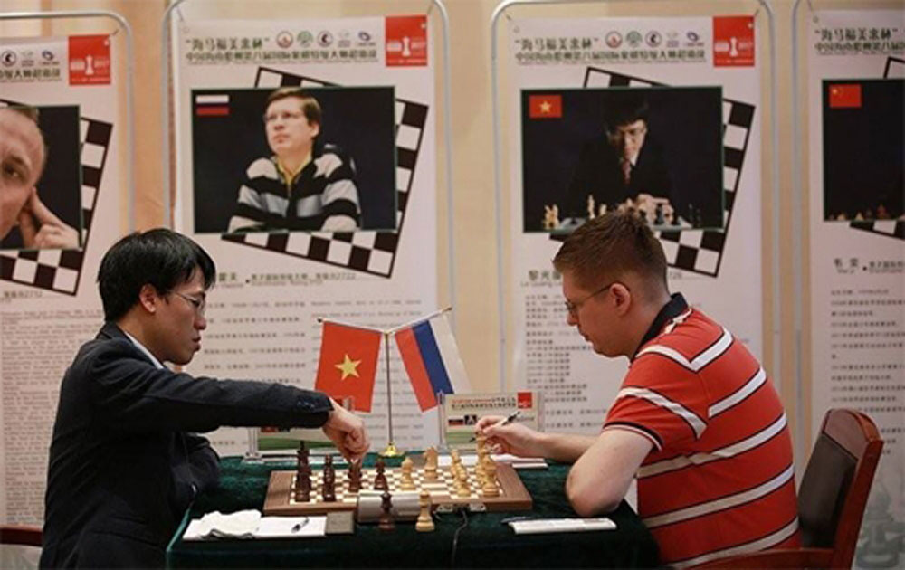 Liem climbs to second place after important win