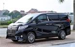 Xe sang Toyota Alphard chuẩn bị phân phối tại Việt Nam