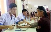 TP Bắc Giang: Khám, tư vấn sức khỏe cho 155 thương binh, bệnh binh, đối tượng chính sách