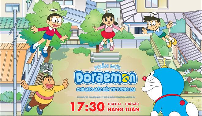 Chú mèo máy Doraemon quay trở lại màn ảnh