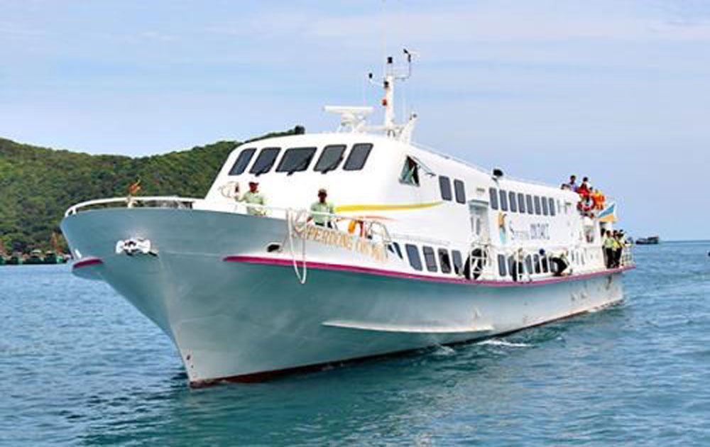 Soc Trang operates sea route to Con Dao islands