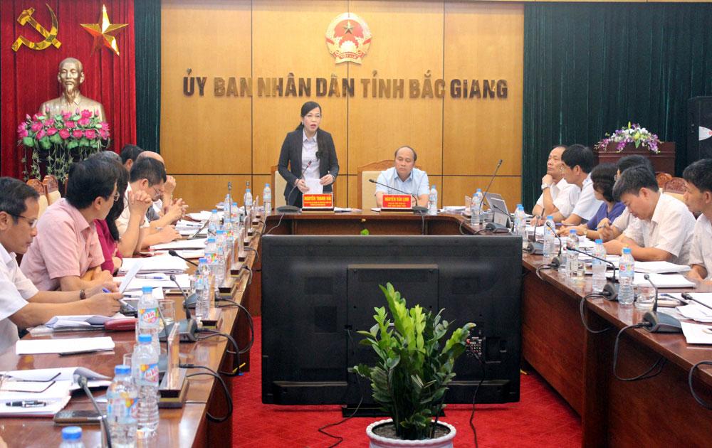 Ban Dân nguyện của Ủy ban Thường vụ Quốc hội: Giám sát công tác tiếp dân, giải quyết khiếu nại tố cáo tại tỉnh Bắc Giang