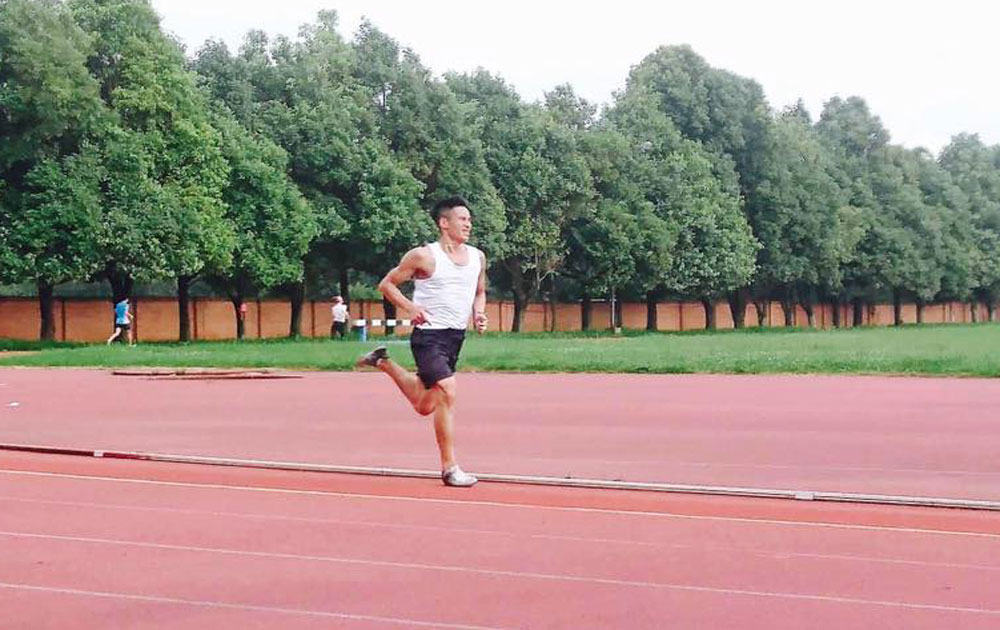 Bac Giang athletic players trained in China