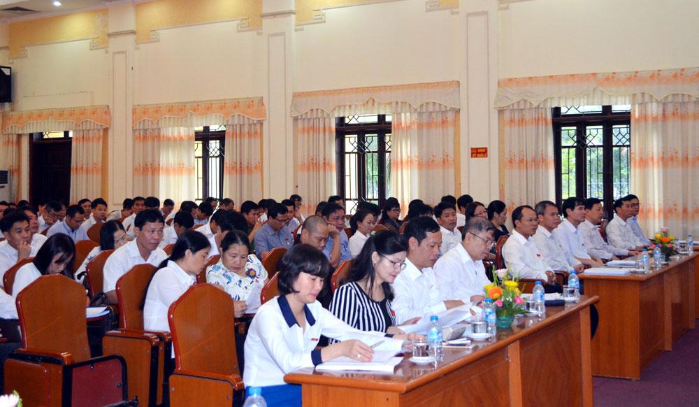 Khai mạc kỳ họp thứ Ba, HĐND TP Bắc Giang khóa XXI