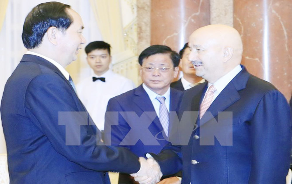 Vietnam wants to forge ties with Mexico: President Tran Dai Quang