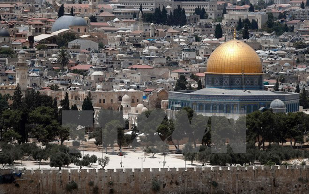 Đụng độ giữa người Palestine và cảnh sát Israel ở Jerusalem