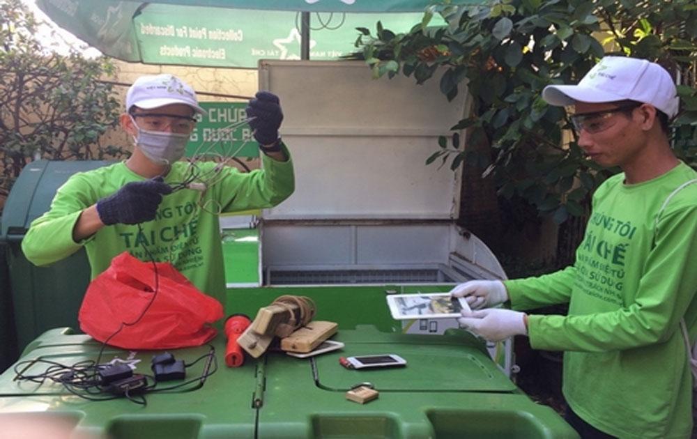 Thúc đẩy từ nhận thức, khuyến khích thải bỏ rác điện tử đúng cách