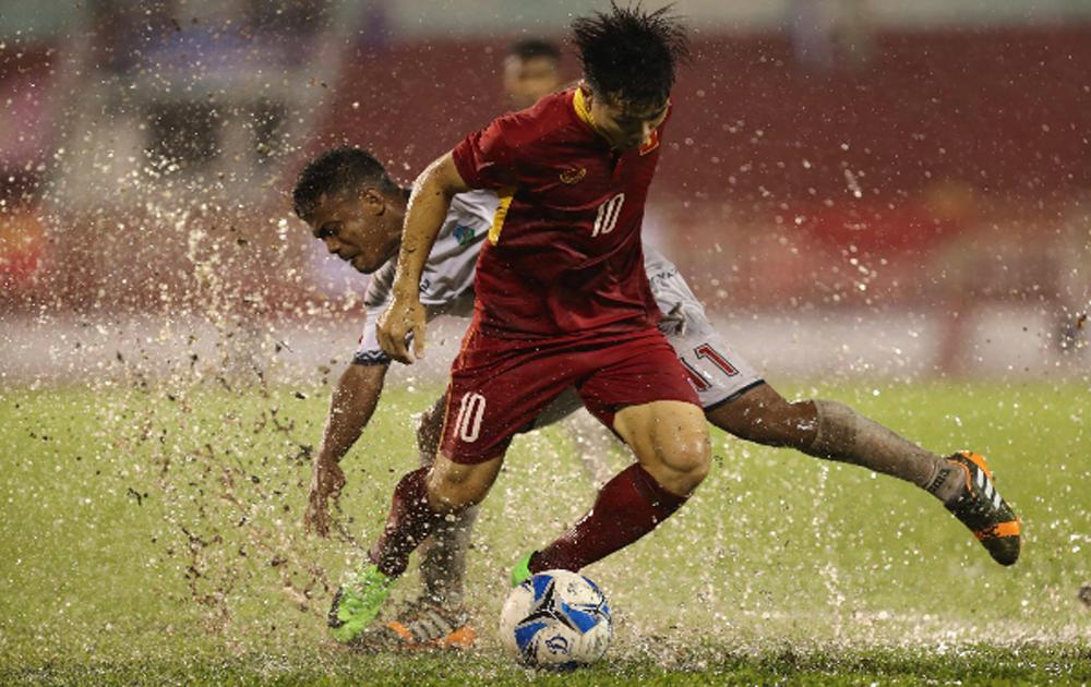 Công Phượng ghi cú đúp, U22 Việt Nam thắng đậm U22 Đông Timor