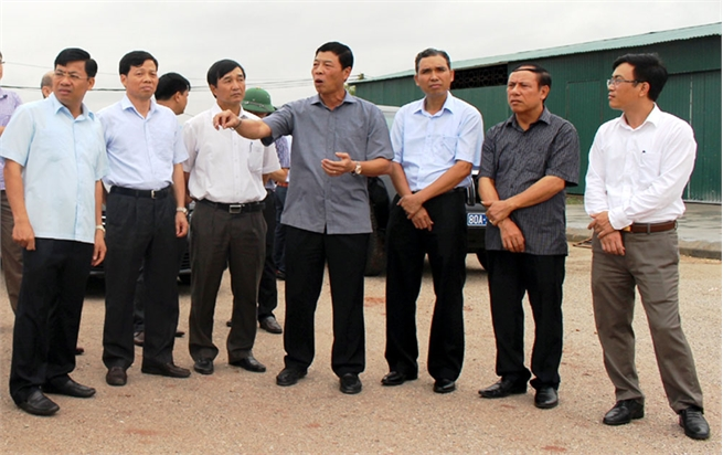Bac Giang city focuses on land clearance, infrastructure improvement at southern urban area