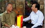 Phó Chủ tịch Ủy ban T.Ư MTTQ Việt Nam Ngô Sách Thực tặng quà người có công